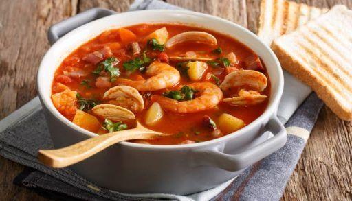 Bombay Vintage - Hot N Sour Shrimp Soup